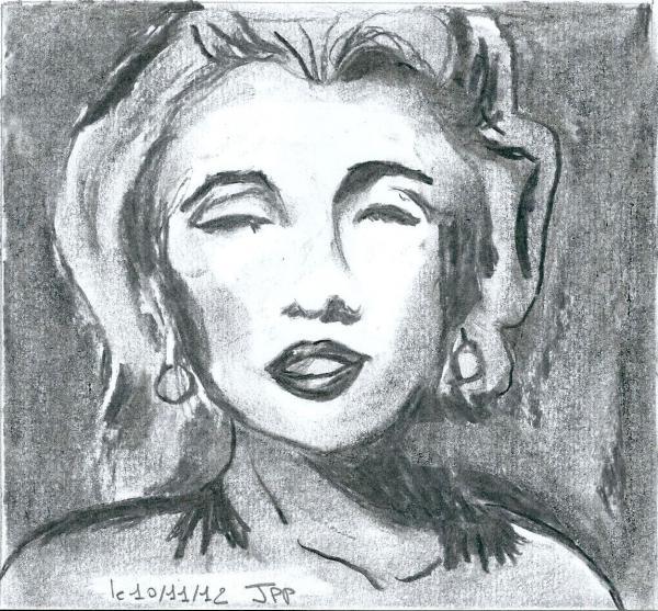 Marilyn Monroe by Boiteadessins